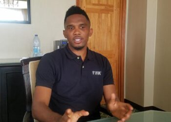 Samuel Eto'o, ancien capitaine des Lions indomptables