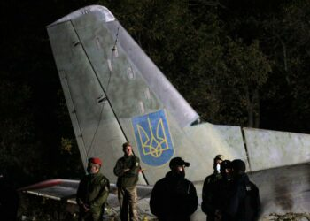 Crash d'avion militaire en Ukraine