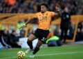 WOLVERHAMPTON, ENGLAND - NOVEMBER 10: Adama Traore of Wolverhampton Wanderers during the Premier League match between Wolverhampton Wanderers and Aston Villa at Molineux on November 10, 2019 in Wolverhampton, United Kingdom. (Photo by Marc Atkins/Getty Images)