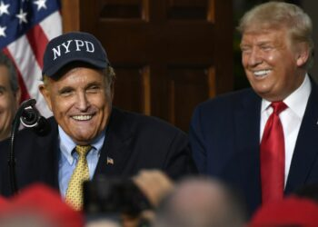 Rudolf Giuliani, avocat de Donald Trump
