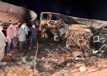 En Égypte, un violent accident fait une vingtaine de morts